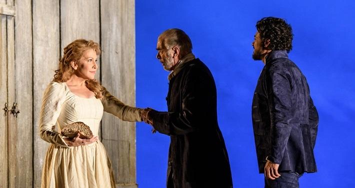 J. Massenet: Werther, Royal Opera House, 2016, Joyce DiDonato (Charlotte), Jonathan Summers (The Bailli), Vittorio Grigòlo (Werther), foto: Bill Cooper