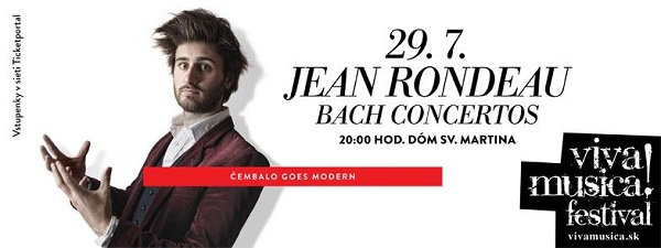 Jean Rondeau Čembalo goes modern, Viva Musica