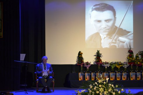 Mikuláš Jelinek na udeľovaní čestného občianstva mesta Kežmarok, 2016, foto: Jana Pisarčíková