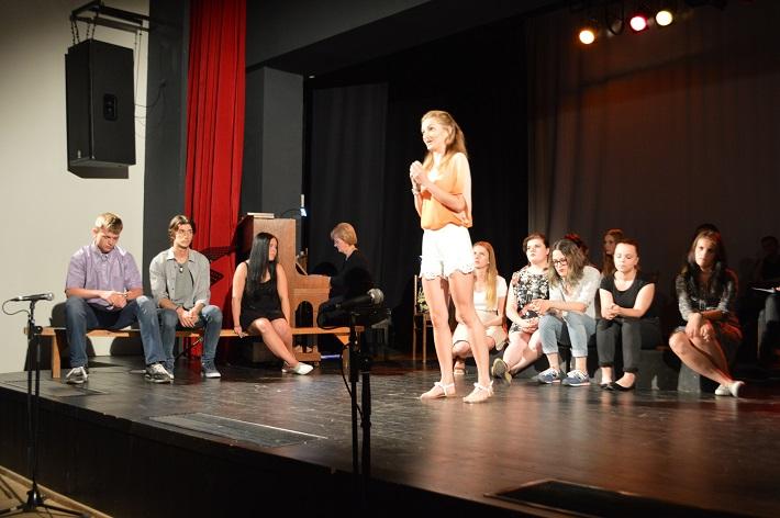 Mikuláš Schneider-Trnavský – Skúška na koncert, predstavenie operného štúdia pri Konzervatóriu na Timonovej ulici v Košiciach, 2016