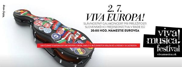 Viva Europa, Viva Musica