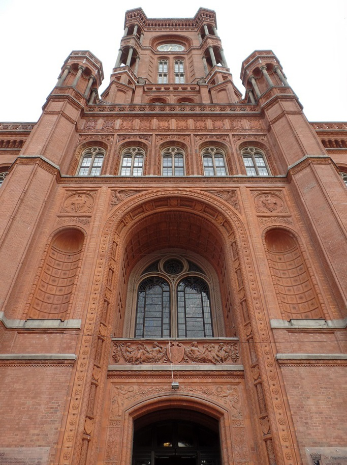 Červená radnica v Berlíne, foto: Joachim Schindler