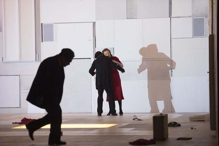 B. Martinů: Juliette, Štátna opera Berlín, 2016, Rolando Villazón (Michel), Magdalena Kožená (Juliette), foto: Monika Rittershaus