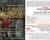 Prvá štúdiová nahrávka opery Šperky Madony