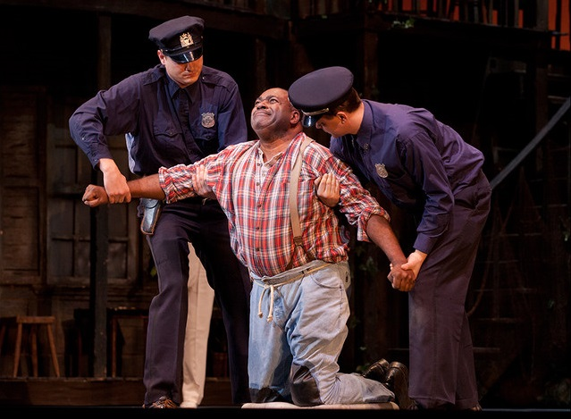 G. Gershwin: Porgy and Bess, Harlem Theatre, foto: Luciano Romano