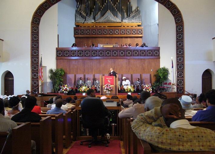 Harlem New York, 2007, kostol, foto: Joachim Schindler