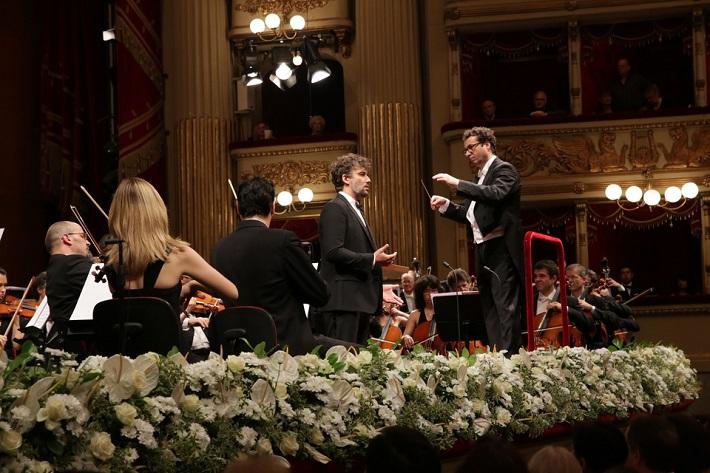 Jonas Kaufmann: Večer s Puccinim, 2015 Jonas Kaufmann, Jochen Rieder, Filarmonica della Scala, foto: Brescia/Amisano, Teatro alla Scala