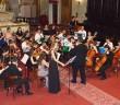 """Šengenský poludník 2016, koncert v Kostole Premonštrátov v Košiciach, Orchester a zbor """"Altissimo"""" z rumunskej Bukurešti, foto: Svjatoslav Dohovič"""