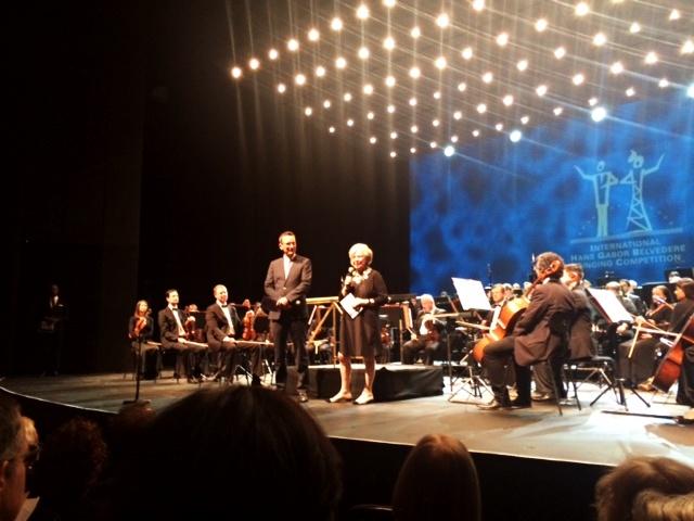 Medzinárodná spevácka súťaž Belveder 2016, Holger Beck a Isabella Gabor, hlavní organizátori súťaže