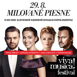 Milované piesne, koncert Viva Musica