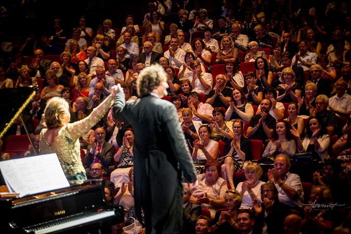 Recitál Edity Gruberovej v Bratislave, festival Viva Musica! 2016, Edita Gruberová, Peter Valentovič, foto: Zdenko Hanout