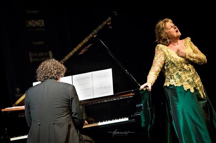 Recitál Edity Gruberovej v Bratislave, festival Viva Musica! 2016, Peter Valentovič, Edita Gruberová, foto: Zdenko Hanout