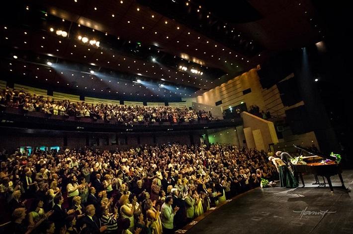 Recitál Edity Gruberovej v Bratislave, festival Viva Musica! 2016, foto: Zdenko Hanout