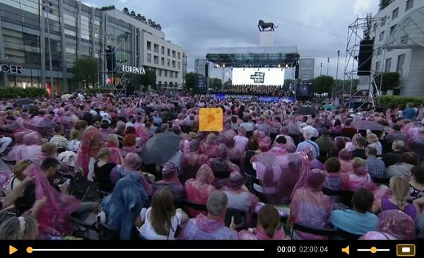 Viva Europa, záznam koncertu, archív RTVS