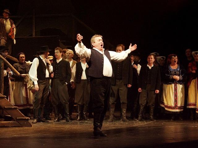 E. Suchoň: Krútňava, Opera SND, 1988, Jozef Ábel (Ondrej), foto: Kamil Vyskočil (Archív SND)
