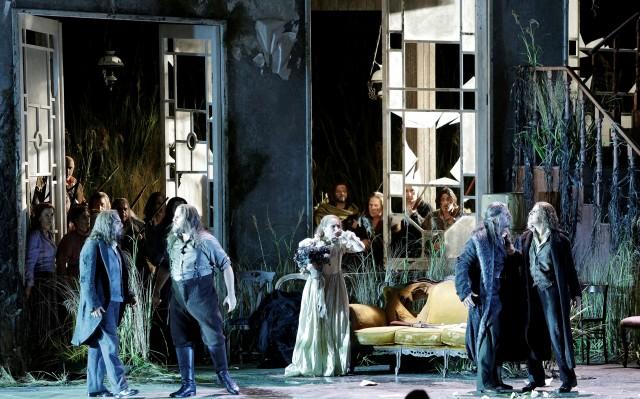 G. Rossini: La donna del lago, Rossiniho operný festival v Pesare, 2016, foto: ROF