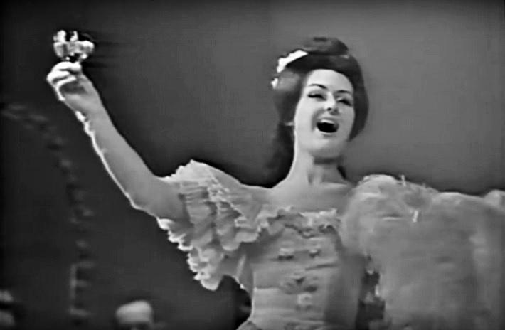 G. Verdi: La traviata, DJGT Banská Bystrica, 1968, Edita Gruberová (Violetta)