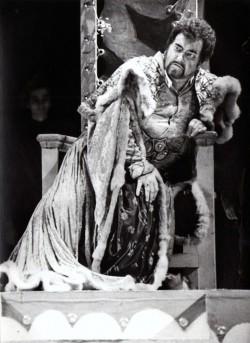 G. Verdi: Otello, Opera SND, 1993, František Livora (Otello), foto: Archív SND