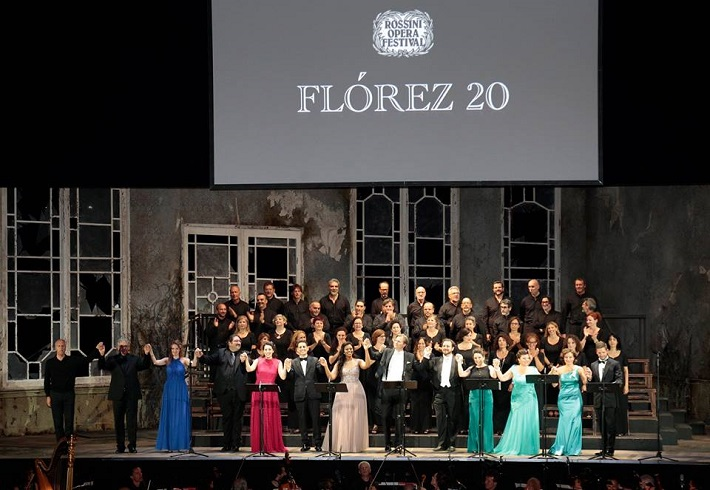 Galakoncert J. D. Flóreza, Rossiniho operný festival v Pesare, 2016, foto: ROF