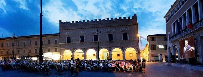 Galakoncert J. D. Flóreza, Rossiniho operný festival v Pesare, 2016, koncert vysielaný pred divadlom, foto: ROF