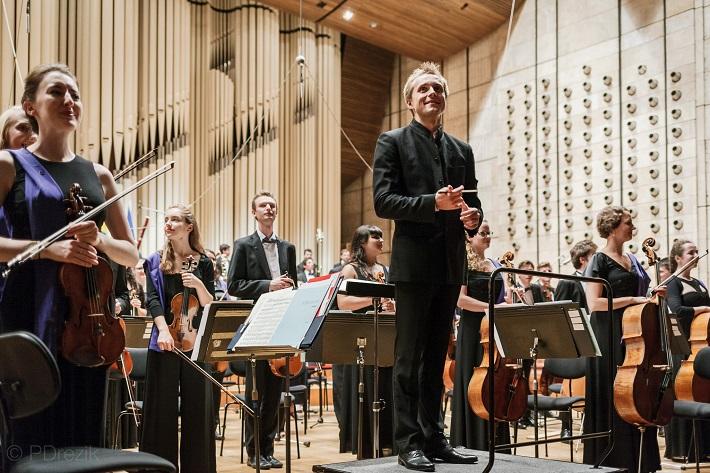 Koncert Mládežníckeho orchestra Európskej únie (EUYO), 2016, Vasilij Petrenko, foto: Peter Drežík