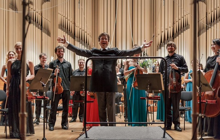 Koncert Slovenského mládežníckeho orchestra v Bratislave, 2016, Martin Majkút, foto: Peter Drežík