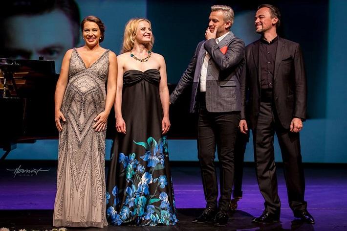 Milované piesne, koncert v rámci festivalu Viva Musica! 2016, Adriana Kučerová, Jana Kurucová, Pavol Bršlík, Štefan Kocán, foto: Zdenko Hanout