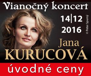 Vianočný koncert Jana Kurucová