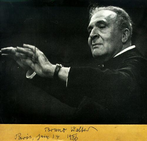 Bruno Walter v roku 1956