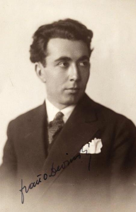 Fraňo Devinský, (1898 – 1946), foto: Archív DÚ