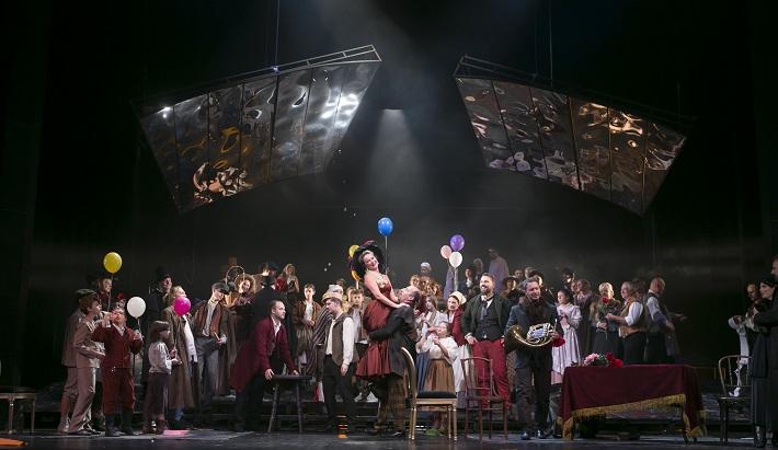 G. Puccini: Bohéma, Opera ŠD Košice, 2016, foto: Jozef Marčinský