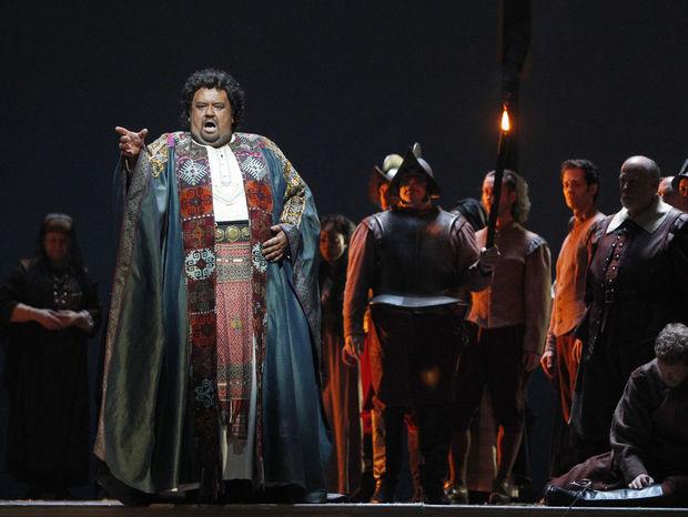 G. Verdi: Otello, Metropolitná opera New York, 2012, Johan Botha (Otello), foto: Mary Altaffer
