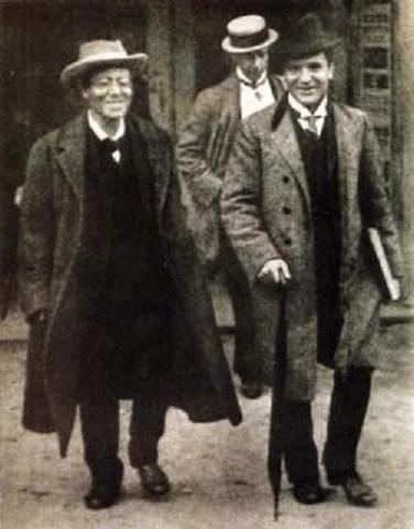 Gustav Mahler a Bruno Walter v Prahe (1908)