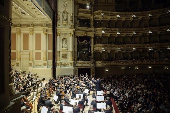 Koncert Sächsische Staatskapelle Dresden, 2016, Christian Thielemann, foto: Oliver Killig