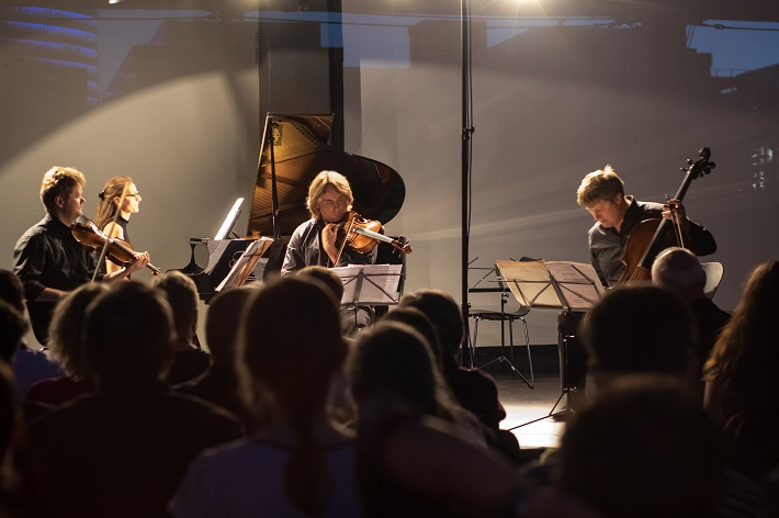 Konvergencie 2016, Milan Paľa, Nora Skuta, Peter Biely, Jozef Lupták, foto: Lubomir Dait