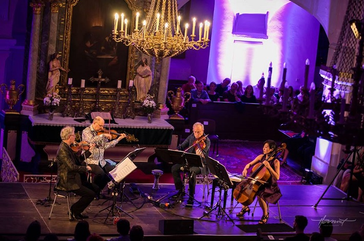Kronos Quartet, Viva Musica! festival, 2016, foto: Zdenko Hanout