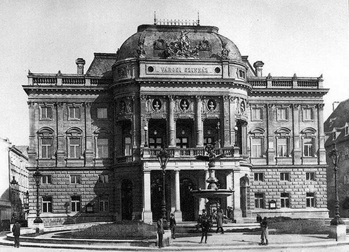 Mestské divadlo v Prešporku, podoba divadla z roku 1910