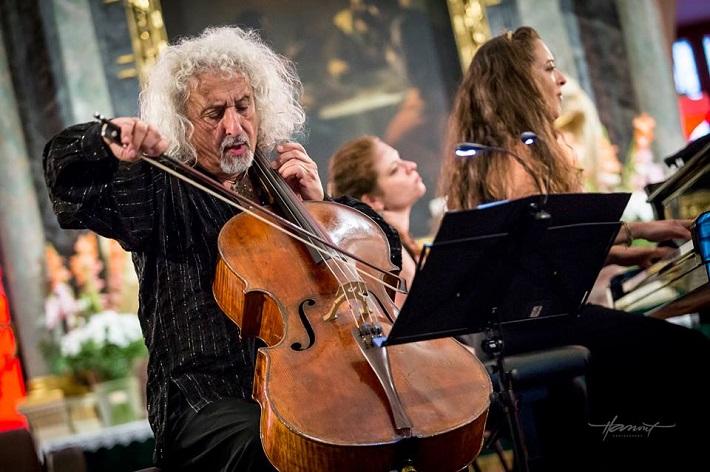 Mischa Maisky, recitál, Viva Musica! festival, 2016, foto: Zdenko Hanout