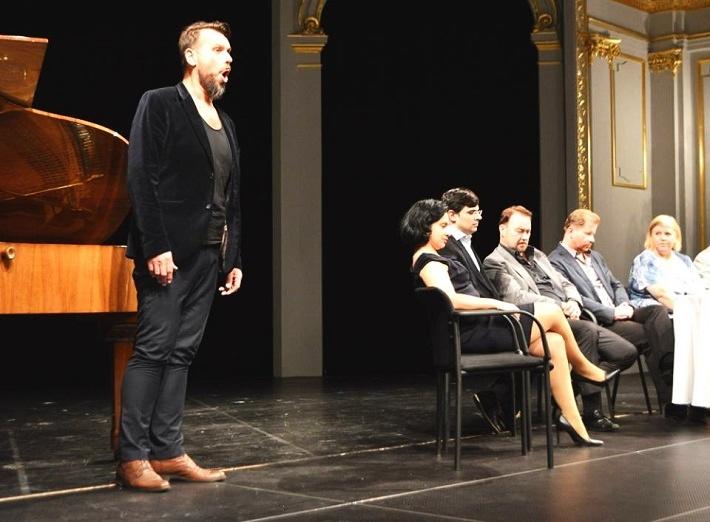 Predpremiérové stretnutie Klubu priateľov opery v Košiciach k premiére Pucciniho Bohémy, Jiří Přibyl, foto: ŠDKE