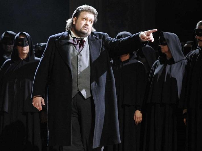 R. Wagner: Tannhäuser, Viedenská štátna opera, 2010, Johan Botha (Tannhäuser), foto: APAHans Klaus Techt
