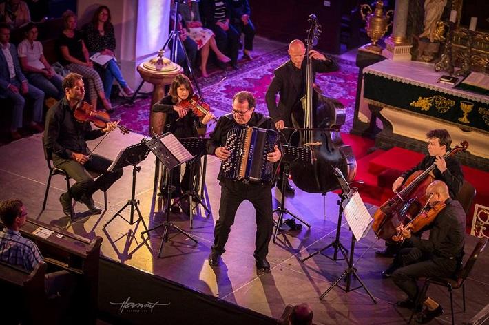 Richard Galliano Sextet, Viva Musica! festival, 2016, foto: Zdenko Hanout