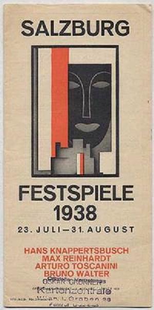 Salzburgerfespiele,1938, plagát