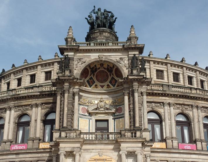 Semperová opera Drážďany, foto: Joachim Schindler