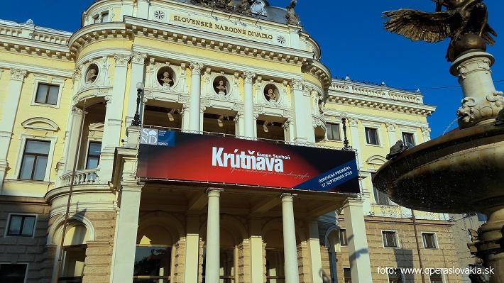 Slovenské národné divadlo, foto: Ľudovít Vongrej