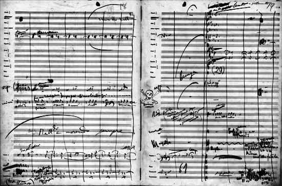 Smrť Mimi (Pucciniho rukopis)