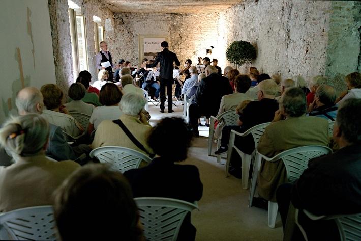 Spomienka na Ivana Paríka, koncert v Dome Albrechtovcov, 2016, Štefan Bučko, Ivan Buffa, Quasars Ensemble, foto: Ján Lukáš