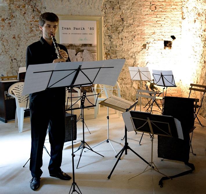 Spomienka na Ivana Paríka, koncert v Dome Albrechtovcov, 2016, Martin Mosorjak, foto: Ján Lukáš