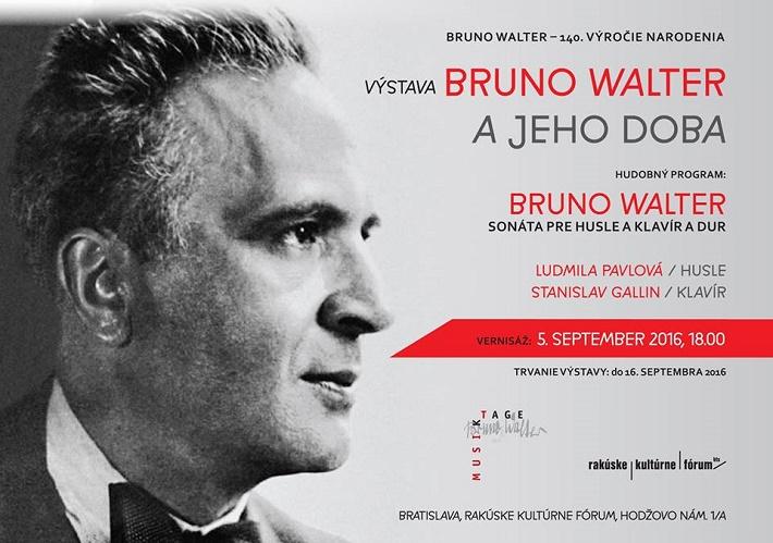 Výstava Bruno Walter a jeho doba
