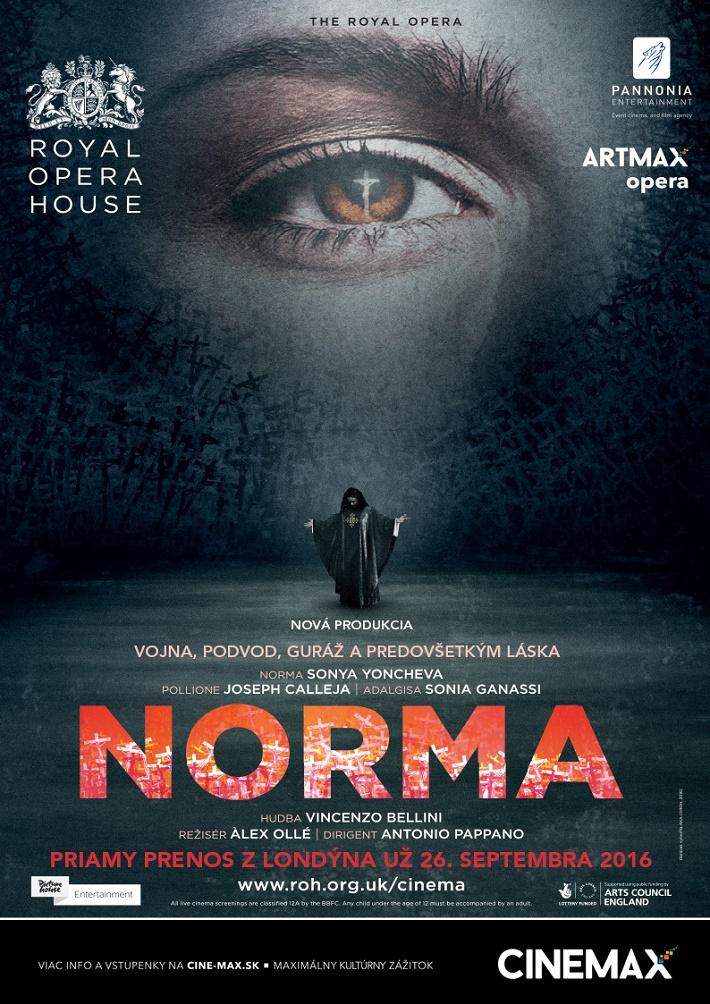 V. Bellini: Norma, Royal Opera House, 2016, CINEMAX plagát