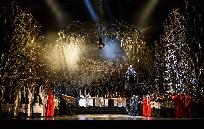 V. Bellini: Norma, Royal Opera House, 2016, foto: Bill Cooper